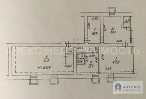 Продажа офиса пл. 290 м2 м. Университет в жилом доме в Раменки - Фото 1