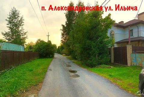 Санкт-Петербург, Пушкинский район, п.Александровская, 10.4 сот. ИЖС - Фото 1