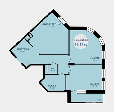 Продажа квартиры, Тюмень, Малиновского, Купить квартиру в Тюмени по недорогой цене, ID объекта - 318370058 - Фото 1