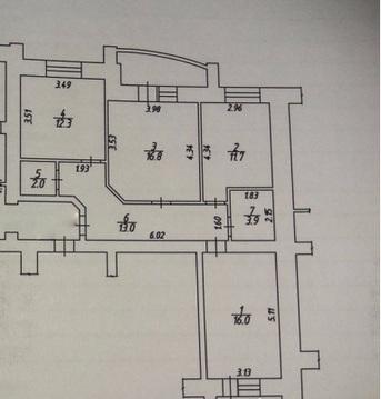Продается 3-комнатная квартира 75.7 кв.м. на ул. Молодежная - Фото 5