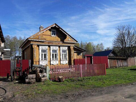 Бревенчатый дом в дер. Сабуриха Лежневского района Ивановской области. - Фото 2