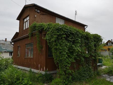 Деревянная дача 54 км от МКАД Ступинский район, СНТ возле Михнево - Фото 1