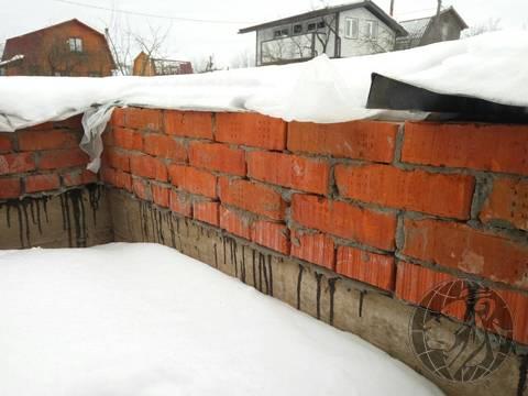 Участок с добротный фундаментом СНТ №7, Климовск, Подольск - Фото 2