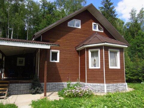 Дачный жилой дом 150 кв.м. СНТ у д.Головеньки - Фото 1