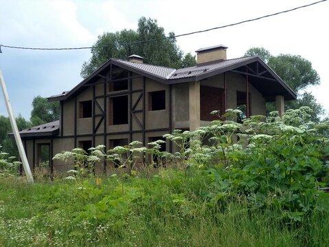 Кирпичный коттедж в деревне Голохвастово. Газ по границе. - Фото 1