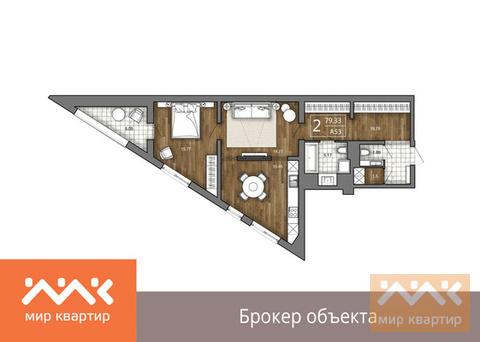Продается 3к.кв, Большая Зеленина ул. - Фото 1