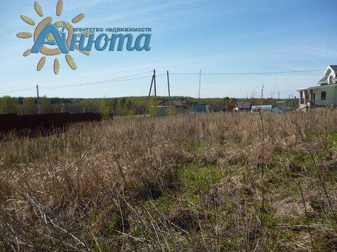 Продается участок 10 соток в заповеднике «Барсуки», деревня Тростье ж - Фото 1