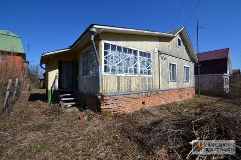 Деревянный дом с участком 19 сот. в д.Шишкино 95 км от МКАД - Фото 2