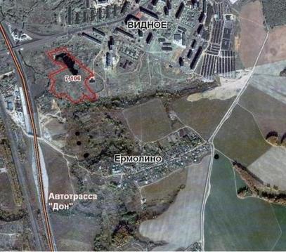 Пром. участок 7,11 Га в 4 км по трассе м-4 на въезде в г.Видное - Фото 2