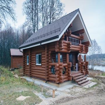 Сдается загородный комплекс на первой линии реки Малая Пудица - Фото 1
