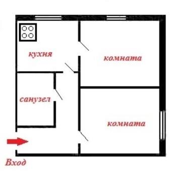 Продам 2-комнатную раздельн квартиру в Магнитогорске- Металлургов 17/1 - Фото 2
