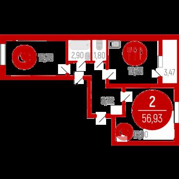 Продажа квартиры, Тюмень, Ул. Червишевский тракт, Купить квартиру в Тюмени по недорогой цене, ID объекта - 320237984 - Фото 1