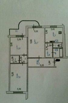 Продается 3-к Квартира ул. Вячеслава Клыкова пр-т, Купить квартиру в Курске по недорогой цене, ID объекта - 321048258 - Фото 1