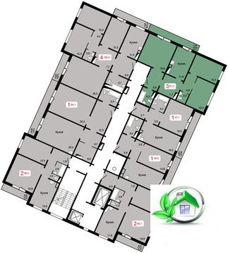 Продам 4 ком. квартиру в новостройке - Фото 2
