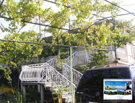 Абхазия. Гудаута. Двухэтажный дом 260 кв.м. Сад 6 сот. 150 м до моря. - Фото 3