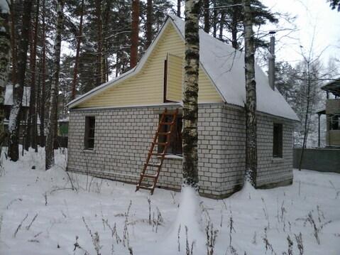 """Уютный домик в сосновом лесу в СНТ """"Радуга"""" близ с. Алеканово. - Фото 1"""
