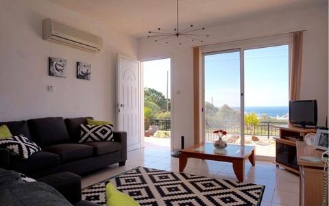 Трехкомнатный Апартамент с видом на море в живописном районе Пафоса - Фото 4