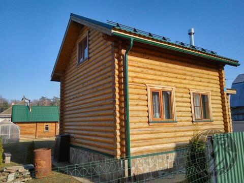 Новый дом (сруб), баня на участке 6 сот в СНТ Лукошкино зио, Кленово - Фото 2