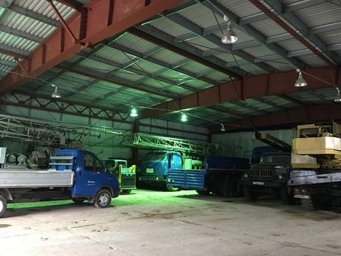 Ремонтно-гаражный комплекс, площадка под технику - Фото 2