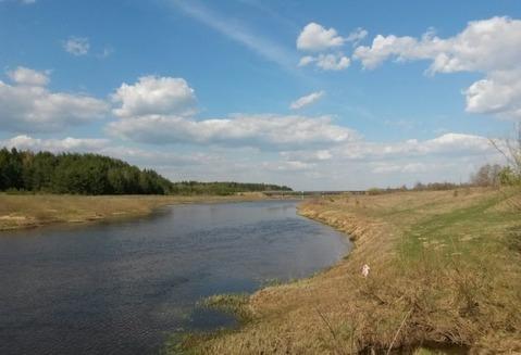 Земельный участок у воды 26 соток рядом с д. Быково Кимрского р-на - Фото 1