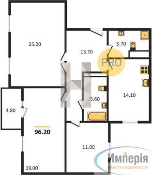 Объявление №60798321: Продаю 3 комн. квартиру. Санкт-Петербург, Красносельское шос., 56/2,
