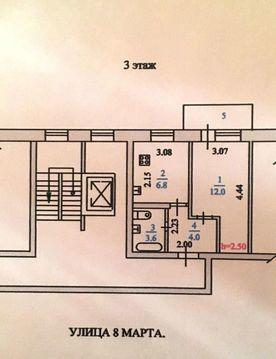 Продажа квартиры, Пенза, Ул. 8 Марта, Купить квартиру в Пензе по недорогой цене, ID объекта - 323204205 - Фото 1