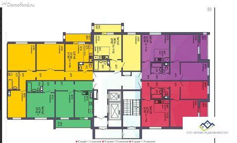 Продам 2-комн квартиру Архитектора Александрова д 8 10эт, 59кв.м 2480 - Фото 2
