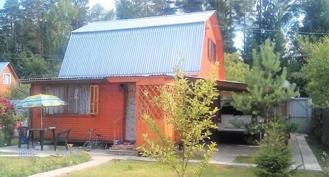 Дача 75 кв. м. в д. Кривское СНТ Лесное, в окружении леса - Фото 2