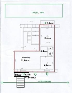 В центре Канска продается торгово-офисное помещение 73,5 кв/м - Фото 5