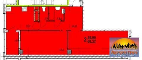 2-к.кв, Вокзальная 26а, новостройка, ремонт - Фото 4