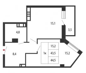 Объявление №50904378: Квартира 1 комн. Самара, ул. Гая,