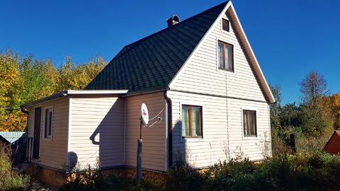 Теплый Дом 54кв.м. на 10 сотках + 40 соток рядом, д.Вишенки 100км МКАД - Фото 1