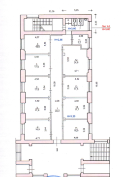 Сдаются в аренду офисные помещения по 17 кв.м. по адресу пр.Ленина 100 - Фото 5