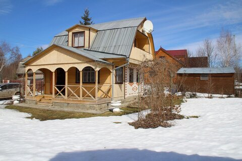 Продается кирпичная дом - дача с баней на участке 10 соток - Фото 2