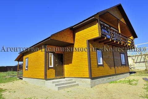 Алопово. Новый дом с панорамными окнами, теплым полом, 200 м от озера. - Фото 4