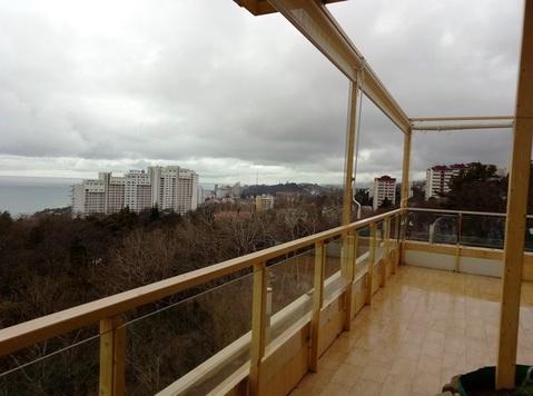 Пентхаус с дизайнерским ремонтом в Сочи, Купить квартиру в Сочи по недорогой цене, ID объекта - 321076209 - Фото 1