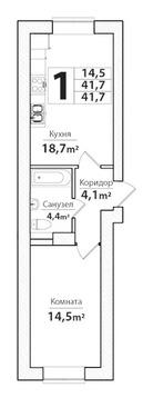 Объявление №55999741: Квартира 1 комн. Калининград, Суздальская улица, 5,