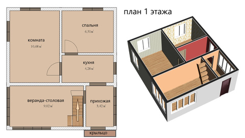 Продажа дачи, Горы-2, Кировский район, 4-я линия - Фото 3