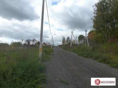 Участок 15 соток вблизи г. Подольск, 10 минут на транспорте. - Фото 1