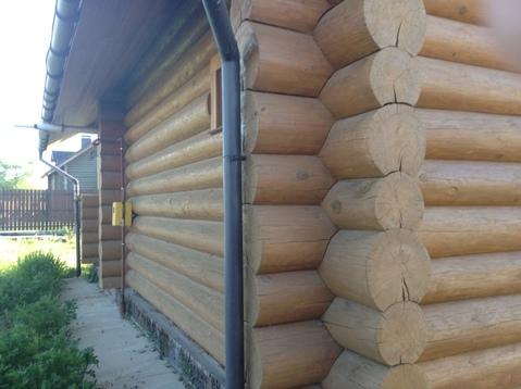 Дом- баня в Кривском, бревенчатая, все-все коммуникации. - Фото 2