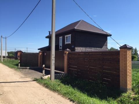 Красивый дом с газом в г. Чехов Московская область, 50 км от МКАД - Фото 2