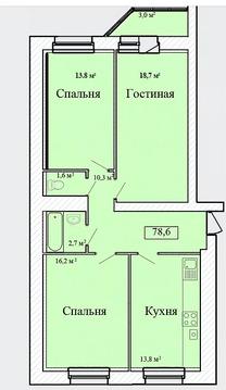 Объявление №59651533: Квартира 3 комн. Тамбов, ул. Придорожная, д. 3,