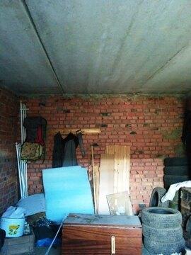 Кирпичный гараж с ж/б перекрытием площадью 22м2, с погребом - Фото 2