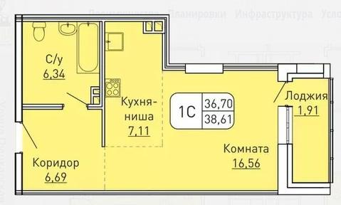"""Первая квартира с шикарной скидкой! ЖК """"Вертикаль"""" - Фото 2"""