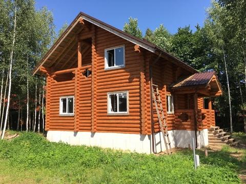 Дом 160м2, 10сот, Киевское ш, 55 км, кп Лесная радуга - Фото 1