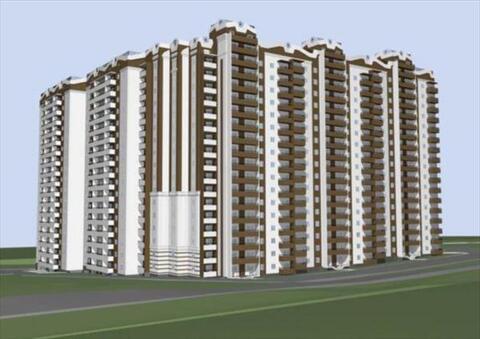 3 комнатная квартира в ЖК Панорама