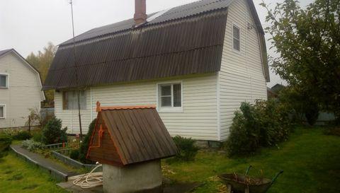 Зимняя дача с печкой у леса и хорошей баней, Ступиснкий р-н - Фото 1