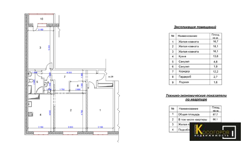 Купи 3-Х ком квартиру европейская планировка И дизайнерский ремонт - Фото 3