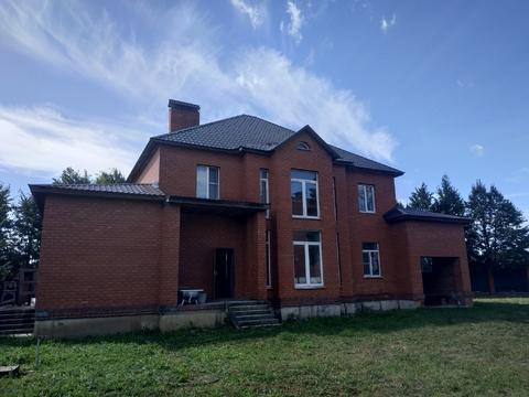 Продается дом 372,6 кв.м, 12 соток. Люберцы, Марусино, Заречная 18 - Фото 1