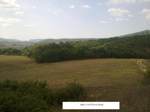 Продается земельный участок с озером ЛПХ 1га село Аромат, Горный Крым - Фото 4
